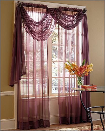 Modern House Ideas For Simple Curtains 2011