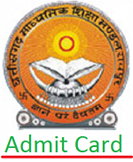 CGBSE HSC Admit Card 2017