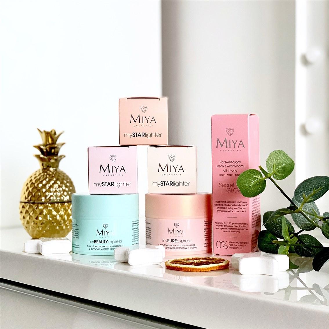 Miya Cosmetics nowości do pielęgnacji twarzy, Miya nowość