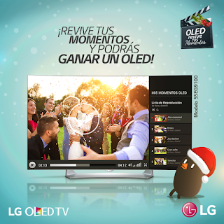 [Concurso] Gana un Televisor LG OLED TV - OLED REVIVE TUS MOMENTOS