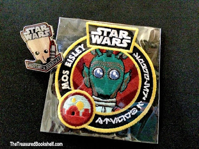 Star Wars Smuggers Bounty pin and patch