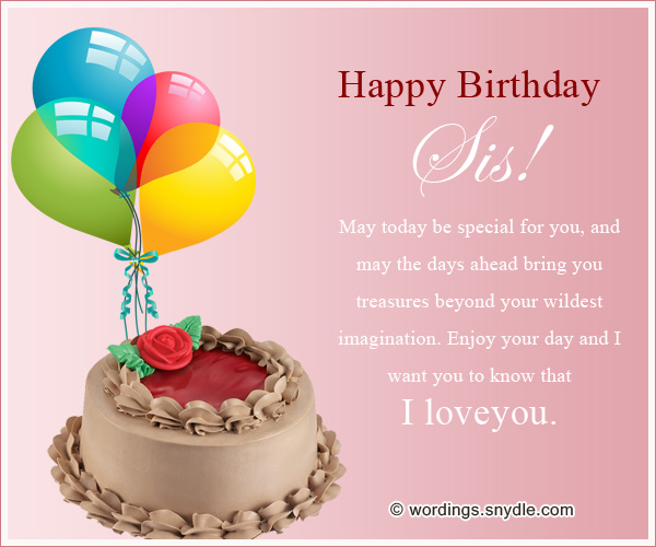Download Free Best Sister Quotes And Best Birthday Wishes Happy Birthday Wishes To You Like