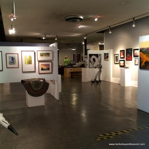 Marin Society of Artists Gallery at Marin Art and Garden Center in Ross, California