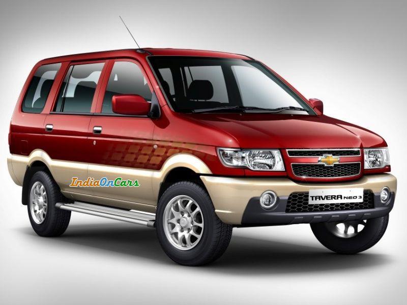 Chevrolet Tavera Neo 3 Wallpaper