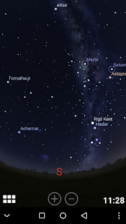 stellarium mobile mappa