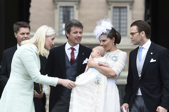 Queen Silvia And King Carl Gustaf Of Sweden Crown Princess Victoria Prince Daniel