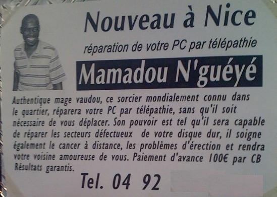 Bouddhanar Profession Marabout