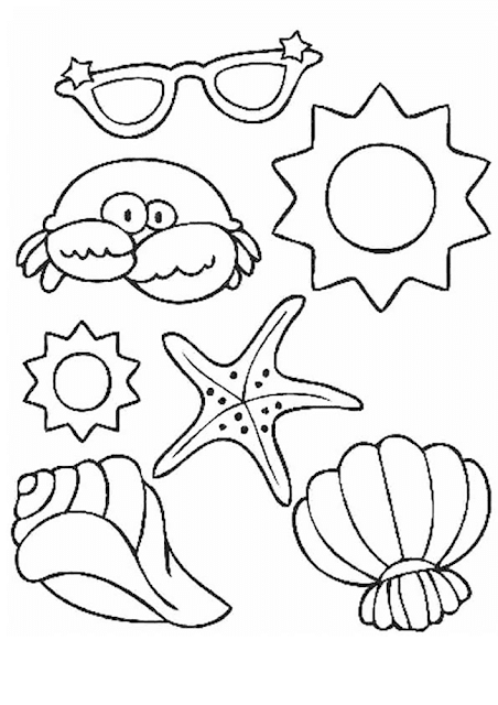 Gambar Mewarnai Binatang Laut - 6