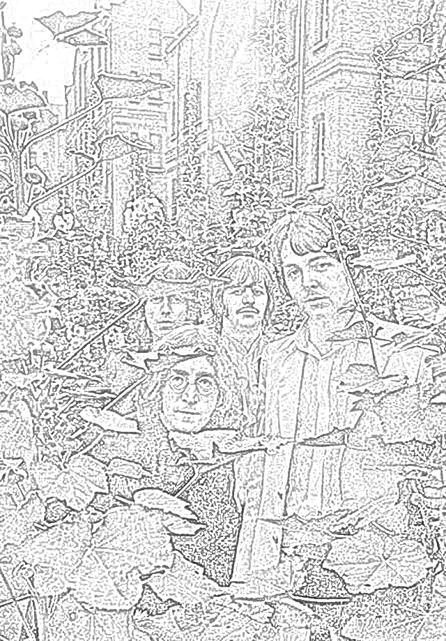 John Lennon portrait coloring page | Free Printable Coloring Pages | 919x640