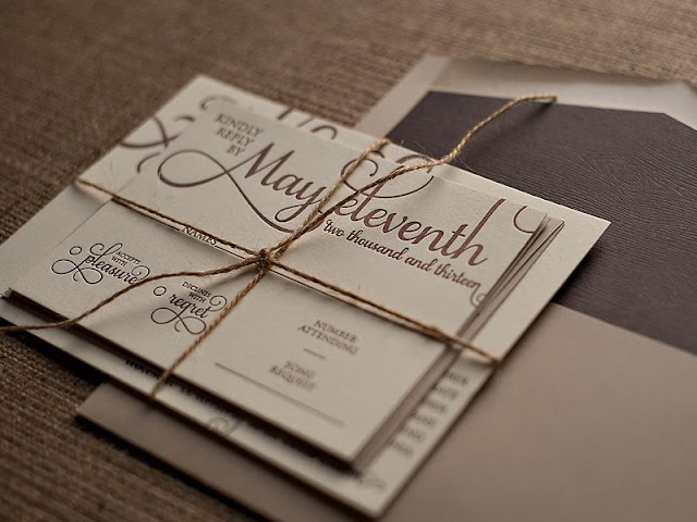 Wedding Invitation Packets
