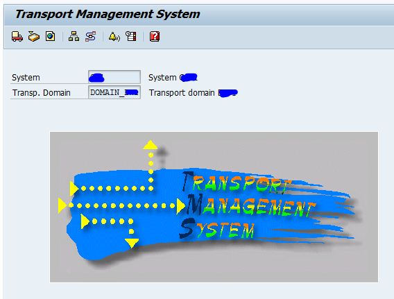 sap basis tutorials how to view import history in sap ? SAP Landscape Diagram 1) login to sap abap system and goto stms transaction code as below and click on truck icon to goto import overview of the sap system