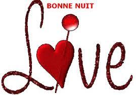 Texet d'amour bonne nuit mon amour