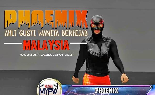 Phoenix, Ahli Gusti Wanita Berhijab Malaysia