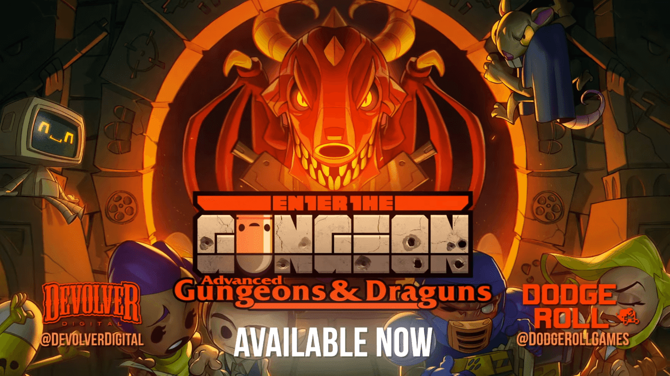"Enter the Gungeon's Free Expansion ""Advanced Gungeons & Draguns"" Launches Today"