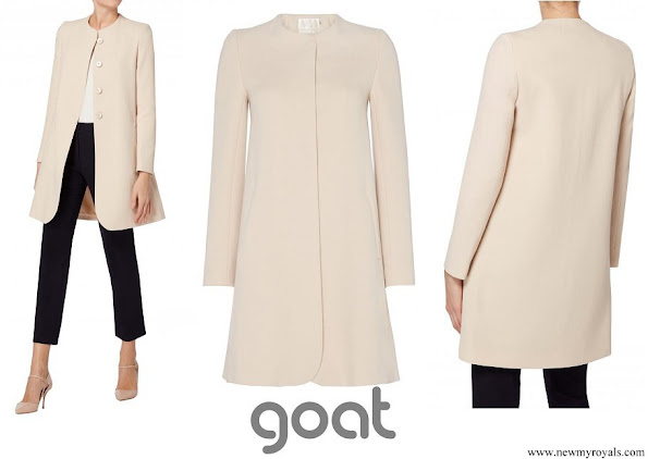 Princess Marie wore Goat Fashion Redgrave coat