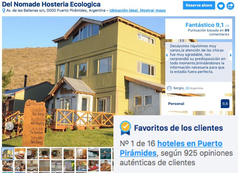 Promociones y ofertas hotel Puerto Piramides