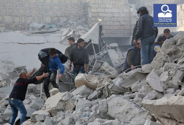 """""""تصعيد """" هجمات النظام والروس تشير إلى خيارات جديدة"""