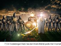 Studi: 7 Ciri Kedatangan Nabi Isa dan Imam Mahdi di Hari Kiamat
