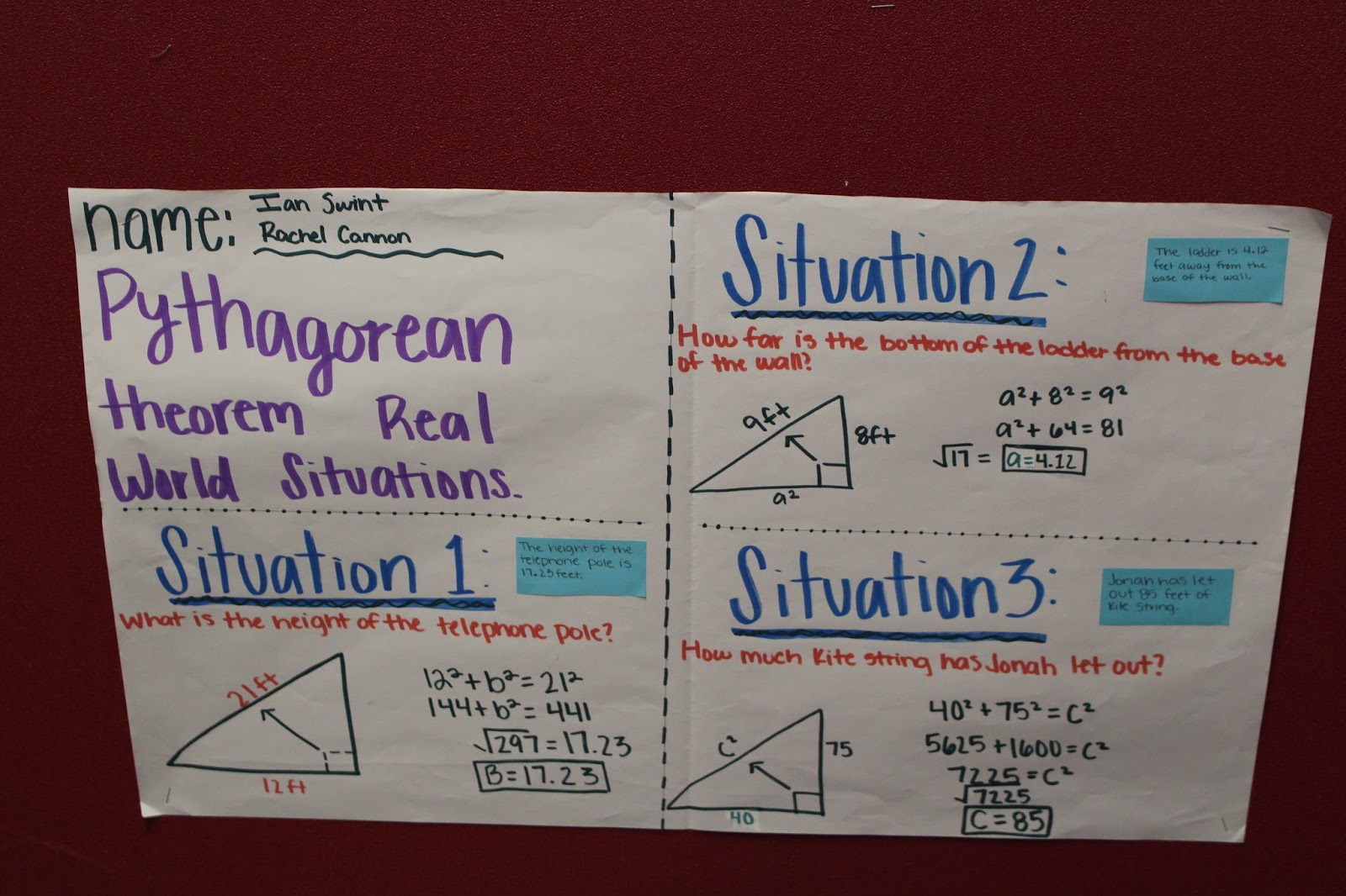 pythagorean theorem project The pythagorean theorem was known and used by the  of tyana sought to emulate pythagoras and live by pythagorean  historical texts project,.