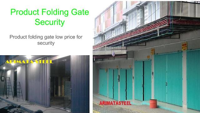 gambar untuk harga folding gate depok