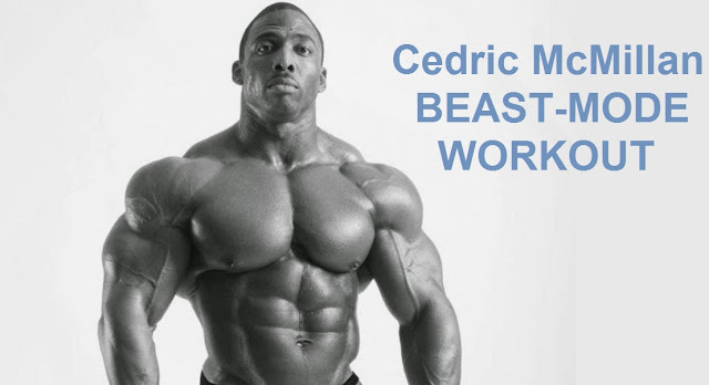 Cedric McMillan Training Routine