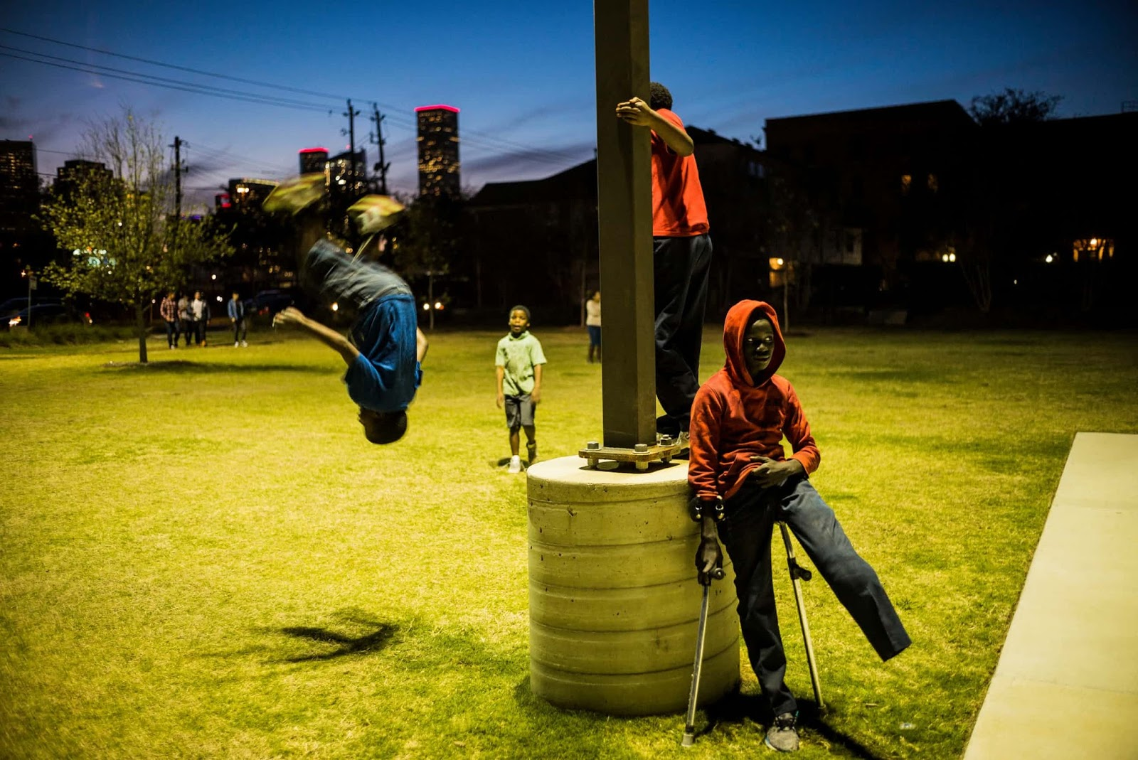 25 Of The Most Intriguing Pictures Of 2017 - Guadalupe Plaza, Houston, US