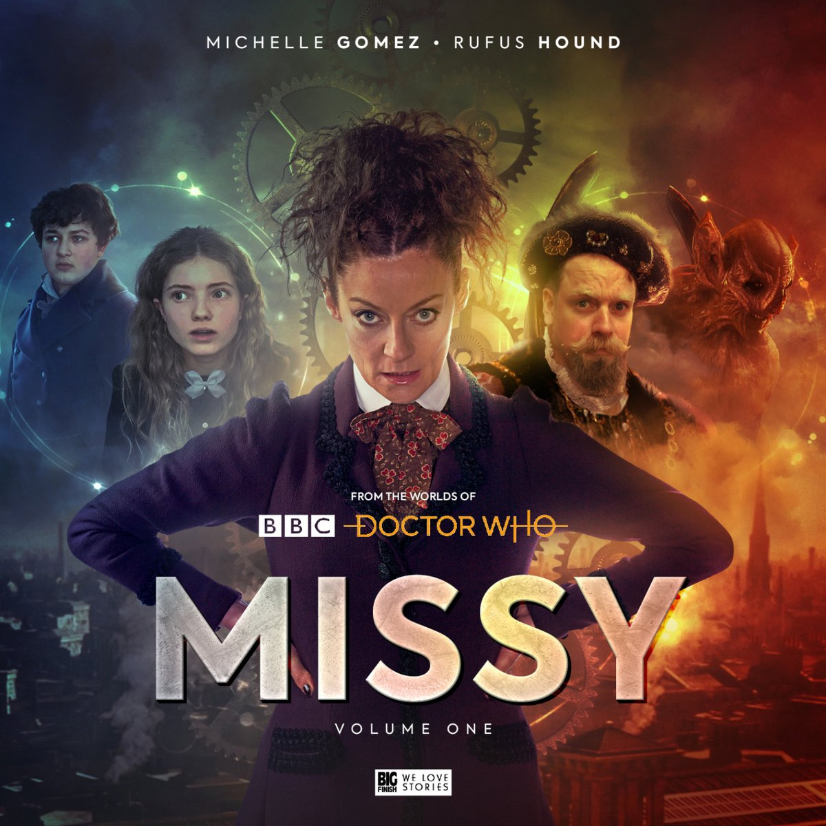 MISSY - Series 1 - Big Finish -  Roy Gill, John Dorney, Nev Fountain, Jonathan Morris