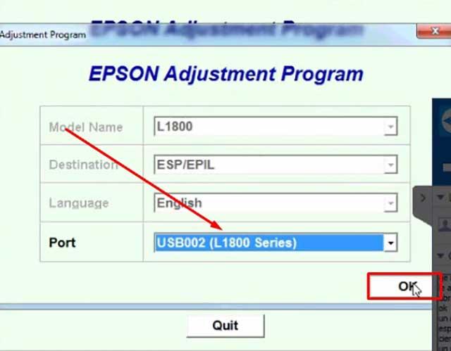 Reset Epson L1800 - Reset Impresora L1800