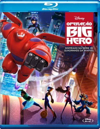 Big Hero 6 (2014) Dual Audio Hindi 480p BluRay 300MB
