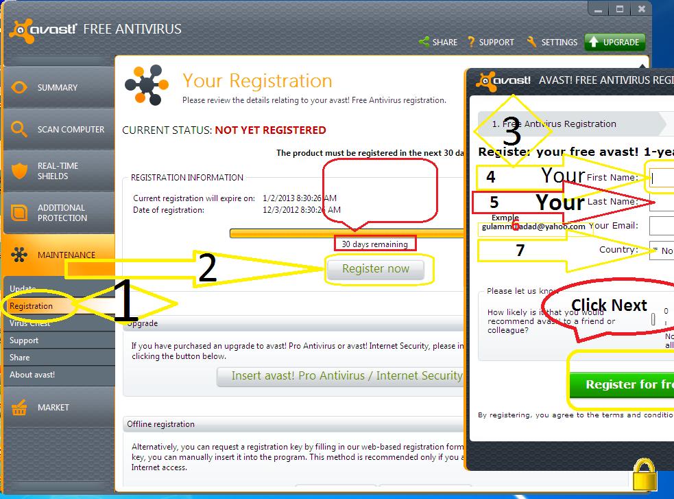 Avast Internet Security Registration Key | Software, crack ...