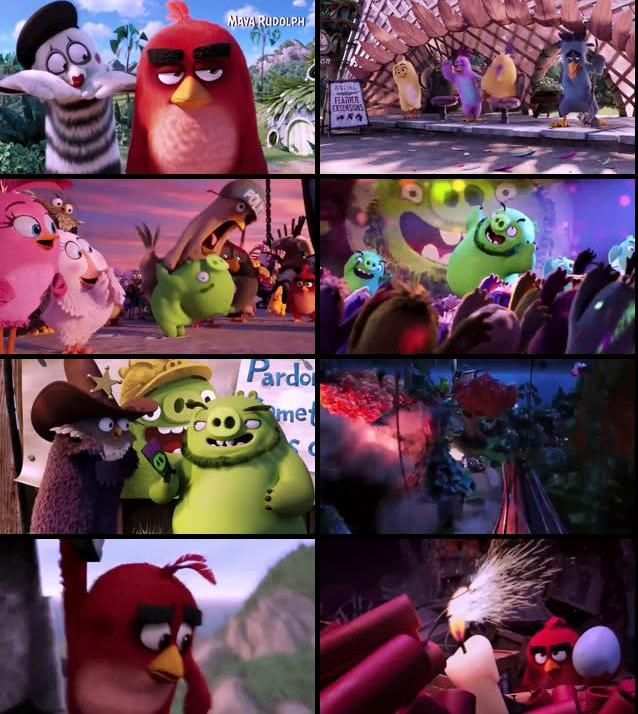The Angry Birds Movie 2016 Dual Audio Hindi 480p WEBRip