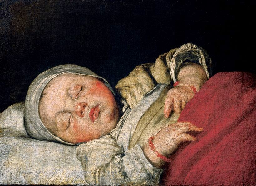 Sleeping Baby, Bernardo Strozzi, Wikipedia Commons