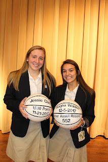 Clark Accomplishes 1,000+ Career Points for Catholic, Walden Accomplishes 552 Career Assists 2
