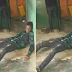 Man who would have won 21 million naira slumps inside Bet9ja shop after Chelsea's win spoilt his game ticket