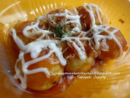 Resep Kue Jepang Takoyaki: Resep Takoyaki Khas Jepang Sederhana