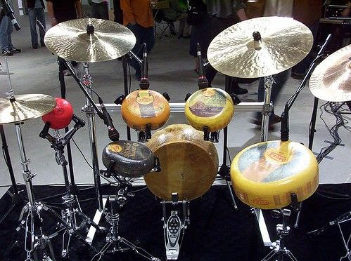 Cheese Drum Set