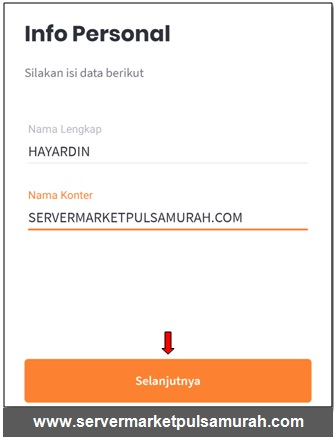 info personal market mobile topup