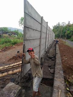 pagar beton panel piyungan bantul
