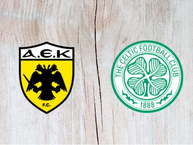 AEK Athènes vs Celtic Full Match & Highlights - 14 August 2018