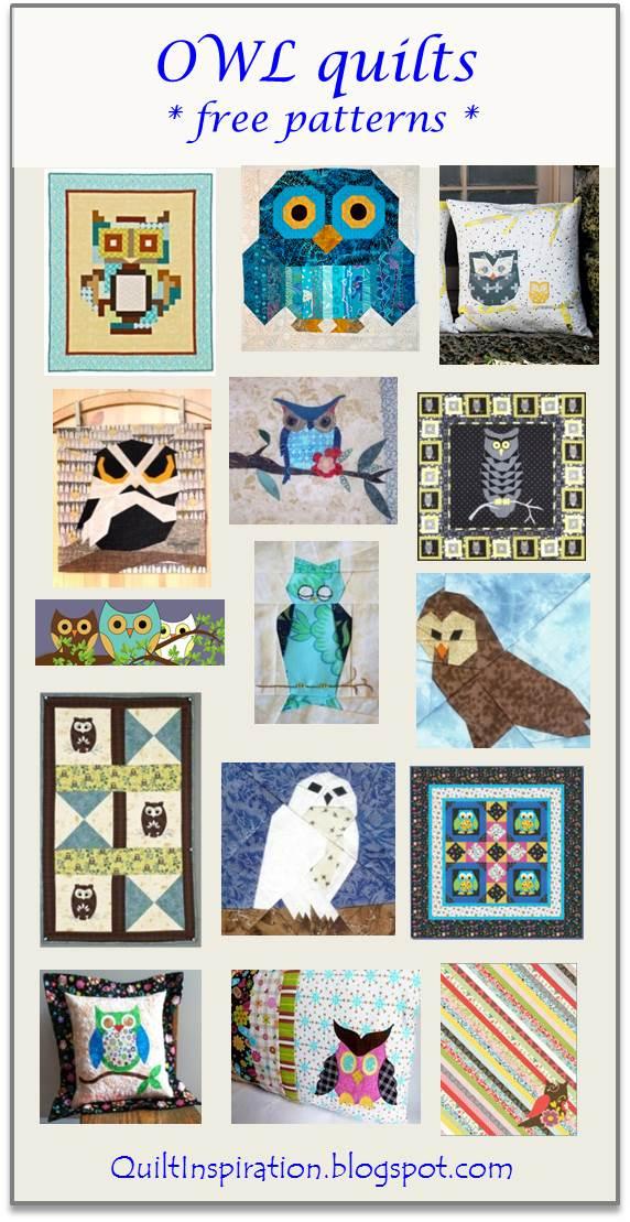 Owl Quilt Pattern : quilt, pattern, Quilt, Inspiration:, Pattern