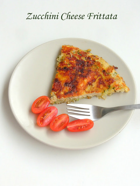 Low Carb Frittata, Cheese Zucchini Frittata