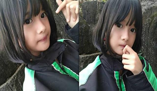 Viral, Gadis Imut Dan Cantik Memakai Jaket Ojek Online Bikin Nitizen Gregetan