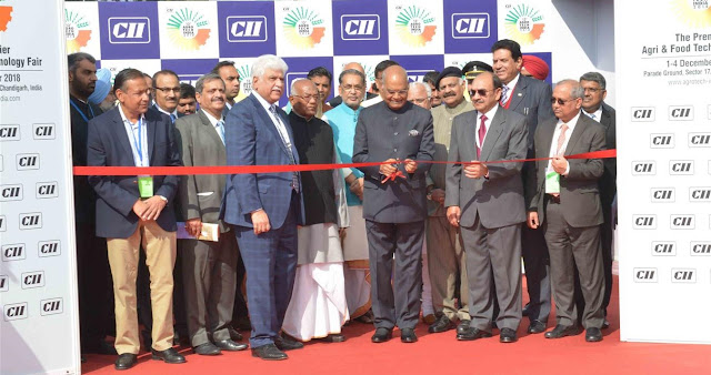 President of India Inaugurates 13th Edition Of CII Agro Tech India - 2018