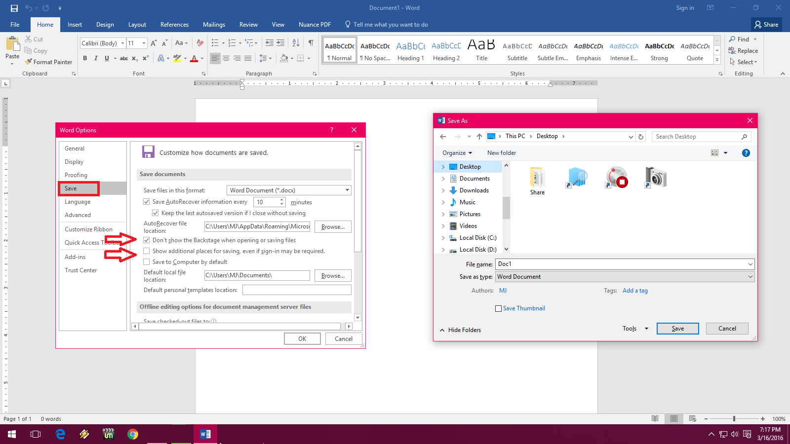 how to save ms word file as pdf