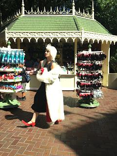 Cruella De Vil Main Street USA Disneyland