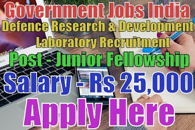 Defence Research and Development Laboratory DRDL Recruitment 2017
