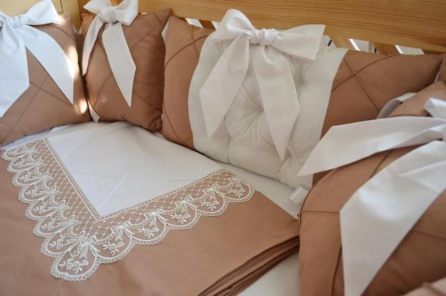 постель в кроватку