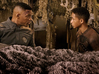 Will Smith Jaden Smith After Earth bomb