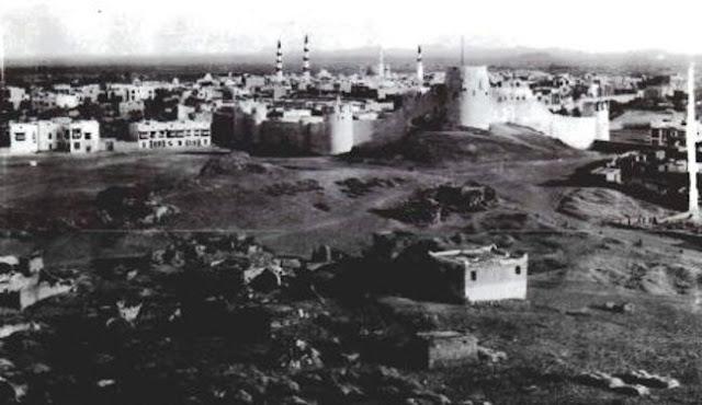 المدينة المنورة عام 1907م