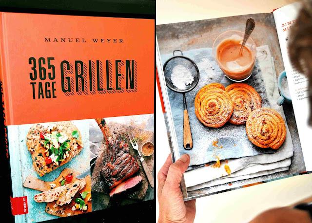 365 Tage Grillen, das Grillbuch von Manuel Weyers